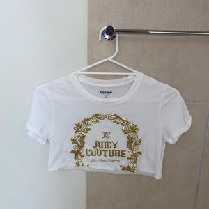 Vintage Juicy Couture Cropped Top!
